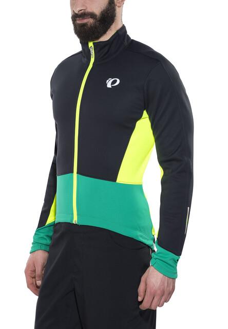PEARL iZUMi Elite Pursuit Softshell Jacket Herren blackpepper green